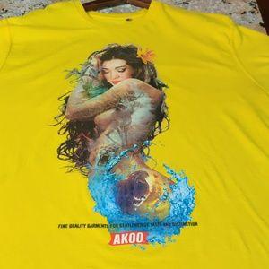 Akoo Yellow t-shirt